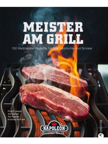 Christian Meister am Grill