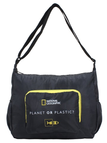 National Geographic Shopper Foldable in Schwarz