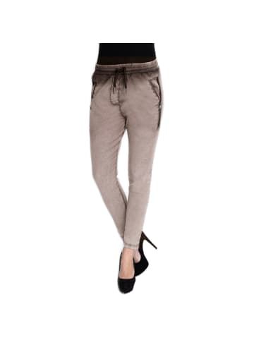 ZHRILL Joggpant Fabia in N2069 - Brown
