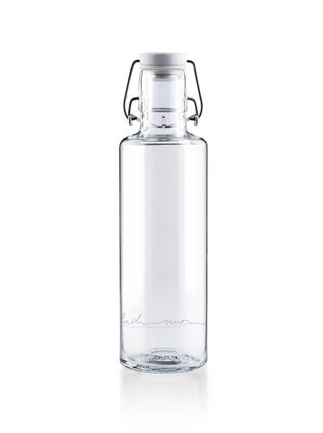 """Soulbottles Trinkflasche """"einfach nur Wasser"""" in Weiß – 600ml"""