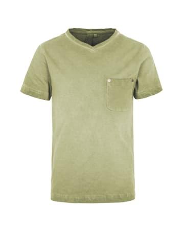 Million X Kids Jungen T-Shirt MICHAEL in fancy green