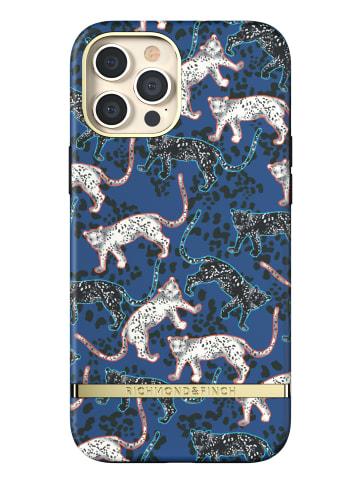 """Richmond & Finch Cover """"Blue Leopard"""" für iPhone 12 Pro Max in blau"""