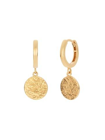 Noelani Creolen Silber 925, gelbvergoldet in Gold