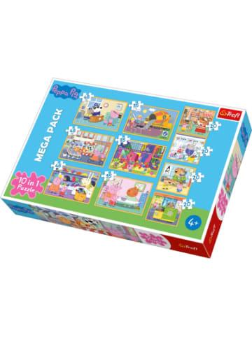 Trefl 10in1 Puzzle Peppa Pig, 20/35/48 Teile - Exklusiv bei myToys