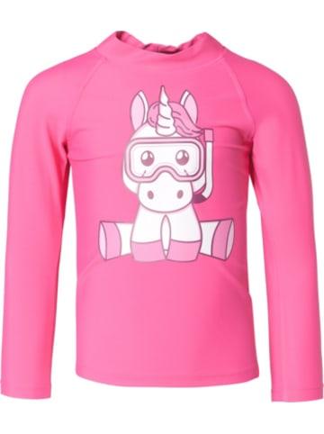 IQ Company Mini T-Shirts UV 300 Shirt Kids Einhorn LS W
