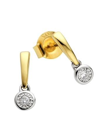 Diamonds by Ellen K. Ohrstecker 375/- Gold in gelb