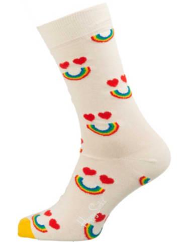 Happy Socks 1er Pack Happy Rainbow Sock Socken