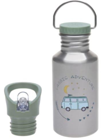 Lässig Edelstahl Trinkflasche Adventure Bus, 500 ml, inkl. 2 Verschlüssen