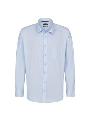 JUPITER Herrenhemd Stilvolles Herrenhemd in streifen hellblau