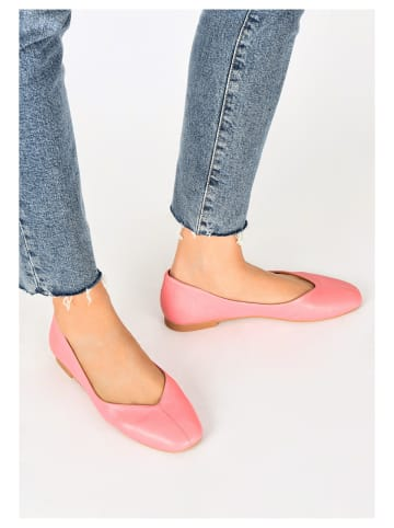 INUOVO Ballerinas in Pink