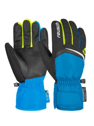 Reusch Fingerhandschuh Balin R-TEX® XT in brill.blue/black/saf.yell