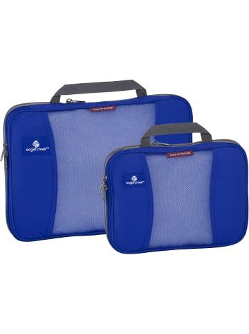 Eagle Creek Pack-It Original Compression Cube Packtasche 2tlg. in blue sea