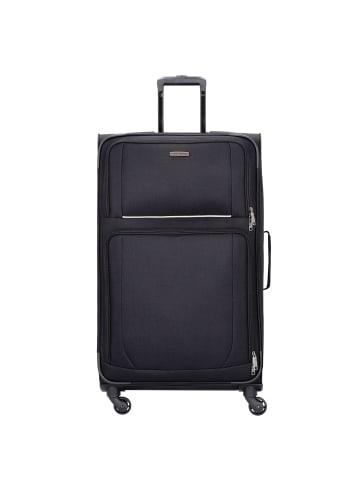 Travelite Garda 2.0 4-Rollen Trolley 68 cm in schwarz