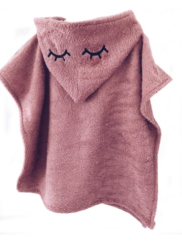 """One2three Outfits  Badeponcho """"Sleepy Eyes"""" in Altrosa"""