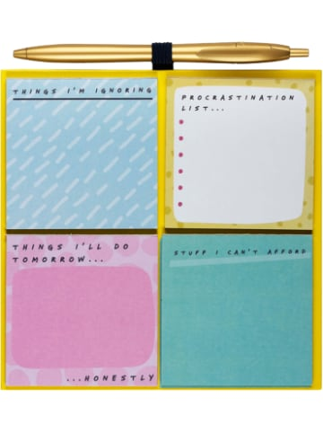 """Npw Magnetisches Board mit Haftnotizen Set """"Notes To Self """""""