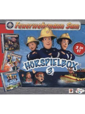 Justbridge Entertainment Germany Feuerwehrmann Sam. Box.3, 3 Audio-CDs