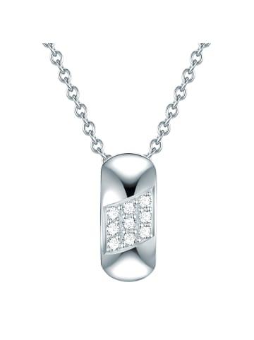 Rafaela Donata Halskette Sterling Silber Zirkonia (CZ) in Silber in silber