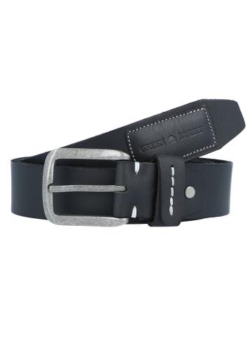 Greenburry Belt Gürtel Leder in schwarz