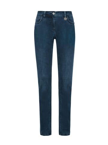 Million X - Women Damen Jeans Victoria superstraight in dark blue
