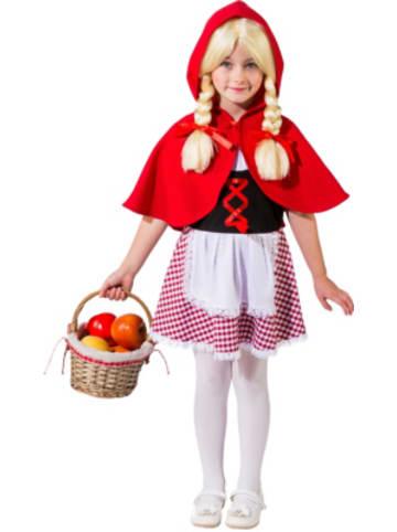 Orlob Karneval Kostüm Rotkäppchen mit Cape