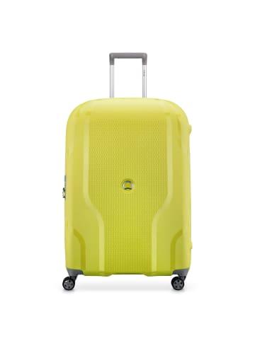 Delsey Clavel 4-Rollen Trolley 76 cm in limone