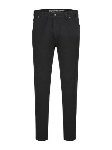 Big Fashion 5-Pocket-Jeans in schwarz