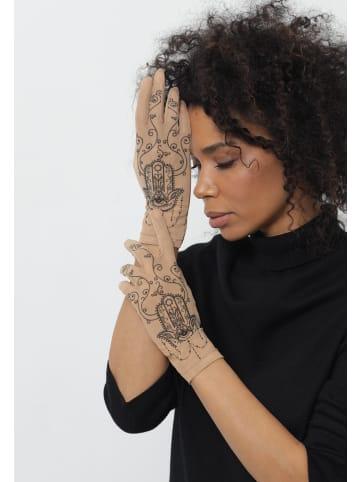 BRIKOLY Handschuhe fünfteilige Handschuhe in hautfarben