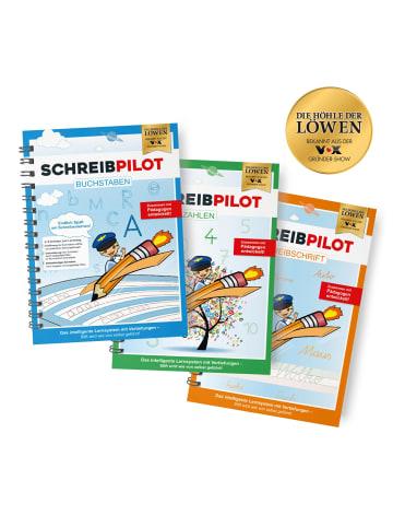 "Schreibpilot 7tlg.-Set: Ringbuch ""DIN-A4"" in Bunt"