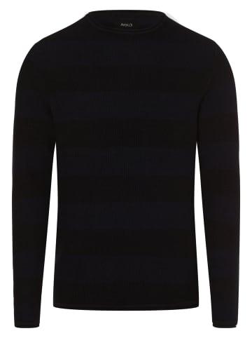 Aygill's Pullover in marine schwarz