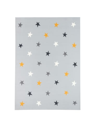 Pergamon Kinder und Jugend Teppich Trendline Sterne Mix in Grau