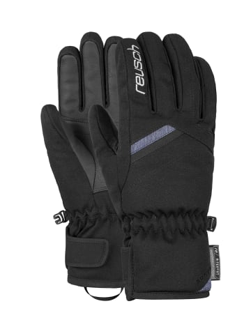 Reusch Fingerhandschuhe Coral R-TEX® XT in black / denim blue