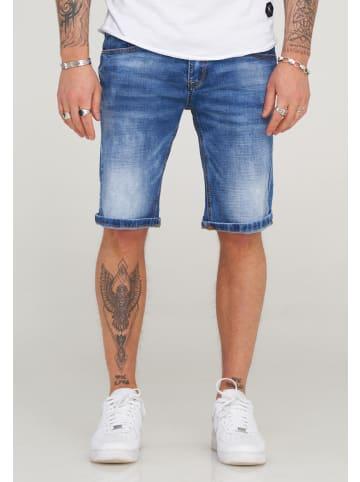 Behype Shorts LEOX-628 in Blau