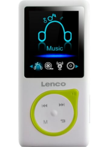 Lenco Xemio-668 Lime - MP3-/MP4-Player mit 8GB Speicher, Farbdisplay und integrie...