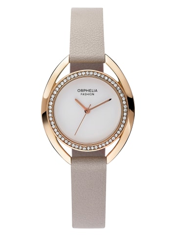 Orphelia Analog Uhr 'Minuit' In weiß/Rosagold