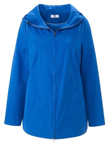ANNA AURA Outdoorjacke Jacke mit Kapuze in kornblumenblau