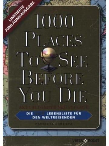 VISTA POINT Verlag 1000 Places To See Before You Die - Limitierte überarbeitete Jubiläumsausgabe