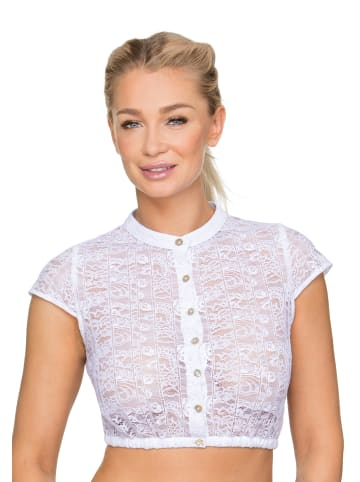"""Stockerpoint Bluse """"9010"""" in weiss"""