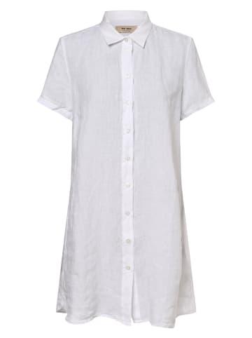 Mos Mosh Leinenkleid Brielle in weiß