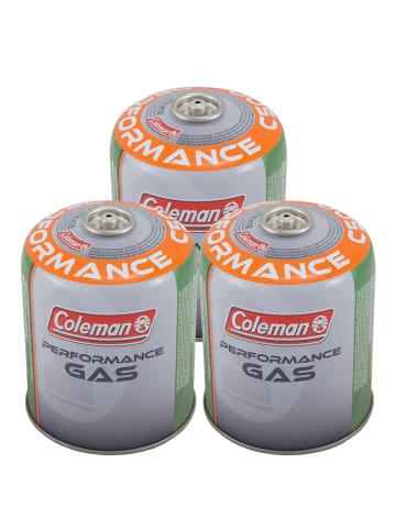 Coleman 3 x Gaskartusche C500 Performance in Multicolor