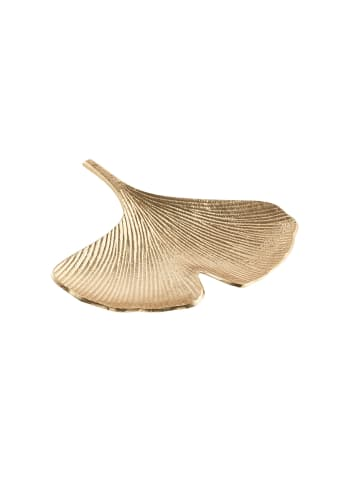 Butlers Deko-Schale Ginkgo L 23 x B 22cm GOLDEN NATURE in gold