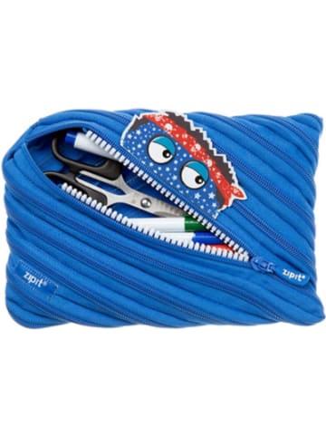 ZIPIT Schlamperetui Talking Monster Jumbo Pouch Royal Blue