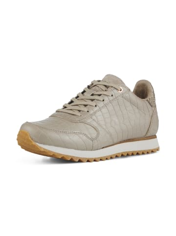 WODEN Sneakers Ydun Croco Shiny in Grau