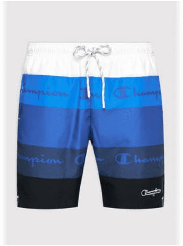 Champion Shorts Beachshort in Blau