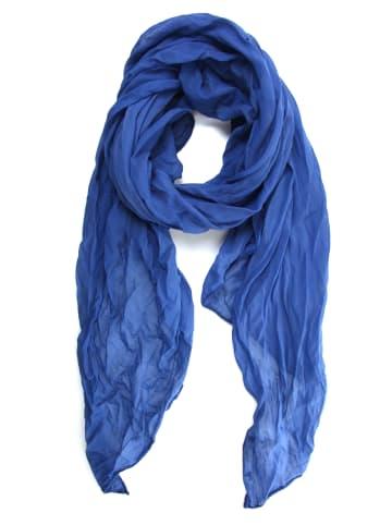 """Collezione alessandro Italienischer Schal """" Unitoo """" in blau"""