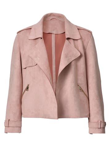 Angel of Style Lederimitatjacke in Rosé