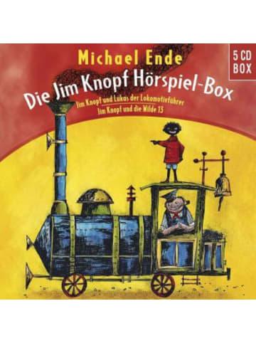 Universal Music Die Jim Knopf und Lukas der Lokomotivführer Hörspiel-Box, 5 Audio-CDs