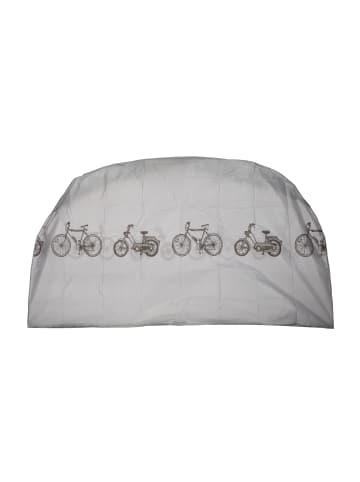 Relaxdays Fahrradgarage in Grau - (B)200 x (H)115 cm