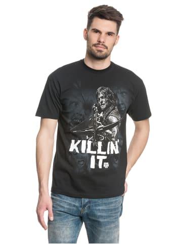 The Walking Dead T-Shirt Killin it in schwarz