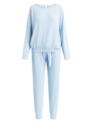 CCDK  Pyjama Set, lange Hose und Longsleeve Lydia Cosy Blue in allure melange