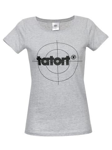 Nastrovje Potsdam T-Shirt Tatort Classic in grau meliert